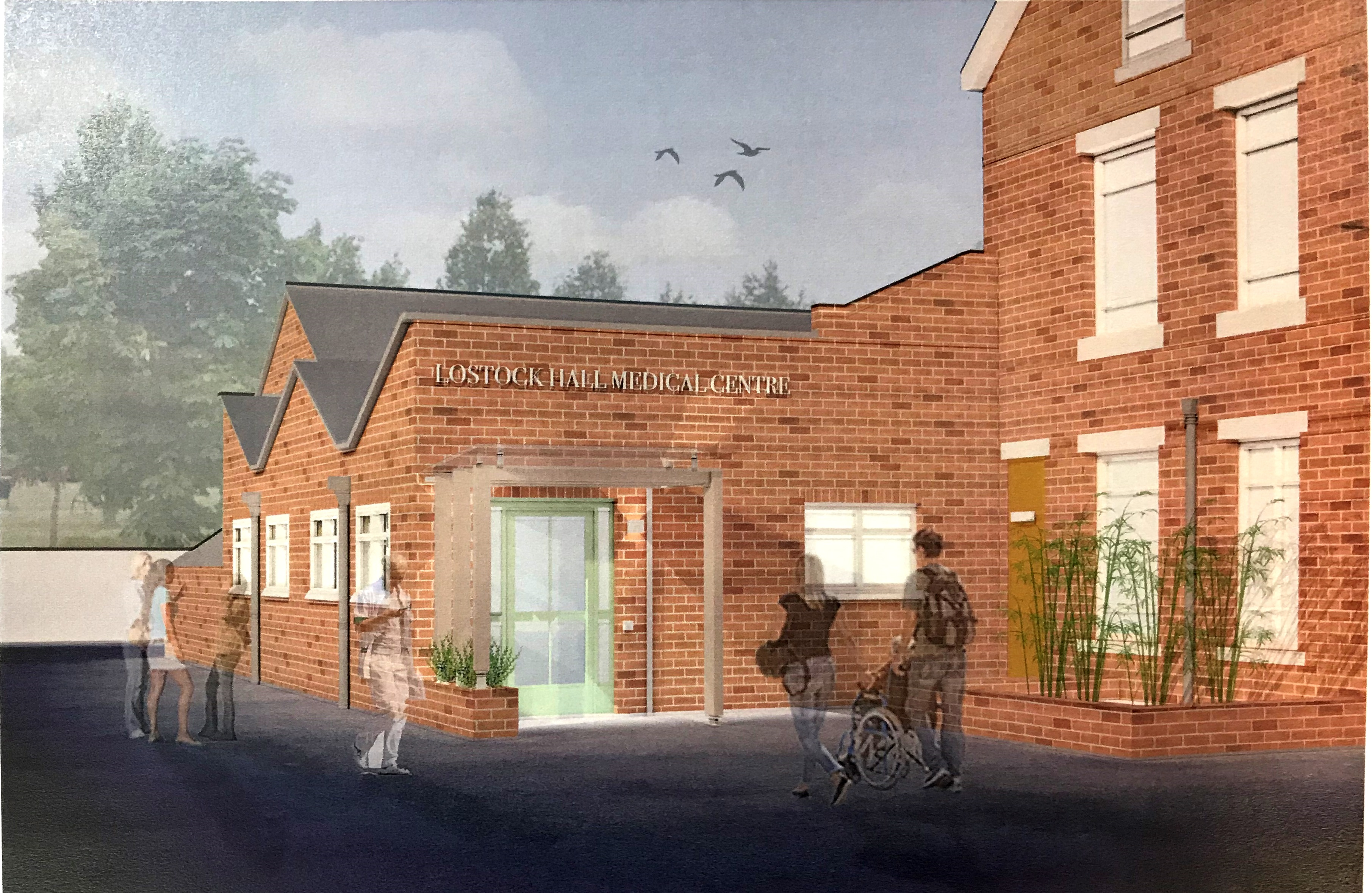 Dardsley new Entrance visualisation